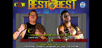 CZW: Best of the Best on April 14