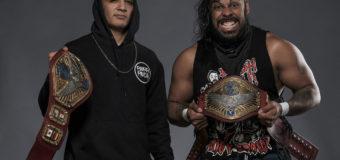 "United World Tag Team Champions Feel ""Static"""
